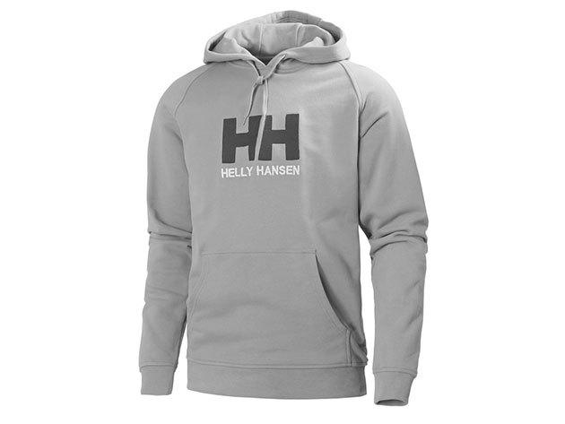 Helly Hansen HH LOGO HOODIE GREY MELANGE XL (54313_949-XL) - AZONNAL ÁTVEHETŐ