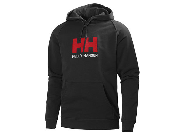 Helly Hansen HH LOGO HOODIE BLACK M (54313_990-M)