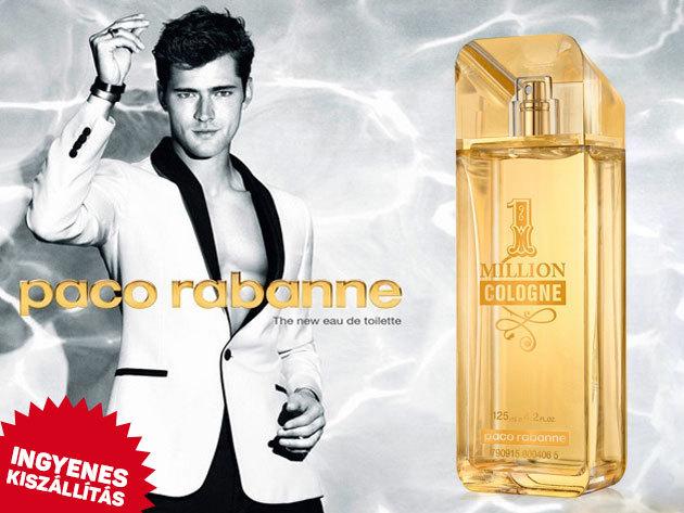Paco Rabanne illatok férfiaknak - 1 Million EDT, Cologne EDT és Privé EDP, valamint INVICTUS és Invictus Intense (100-125 ml-es kiszerelésekben) ingyenes kiszállítással