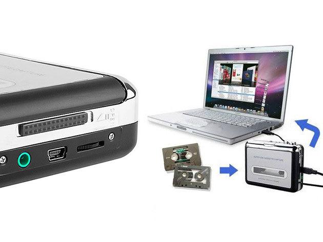 Kazetta digitalizáló Plug and play USB eszköz - Ugye te sem szeretnéd, hogy a féltve őrzött kazettáidon lévő anyagok elvesszenek?