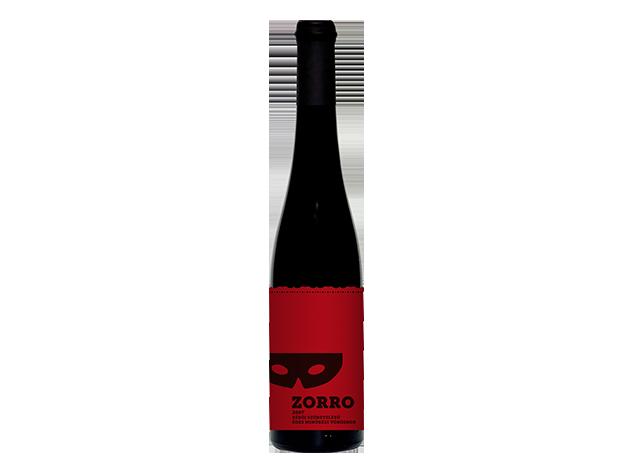 """Birkás Borház: KUNSÁGI """"ZORRO"""" késői szüretelésű édes vörösbor (2007) - AZONNAL ÁTVEHETŐ"""
