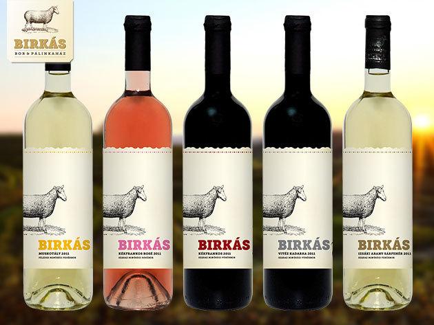 Borok a Birkás Pincészettől az ünnepi asztalra vagy ajándékba - minőségi italok közül választhatsz