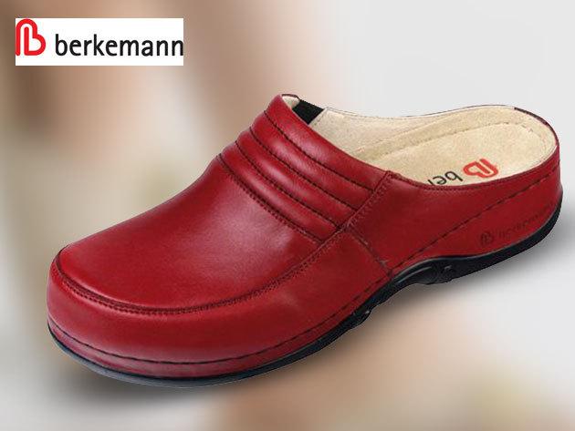 Berkemann stretch bőrpapucsok és bőrklumpák anatómiai talppal 35-42,5 méretben - könnyű és kényelmes járást biztosít, tehermentesíti az ízületeket