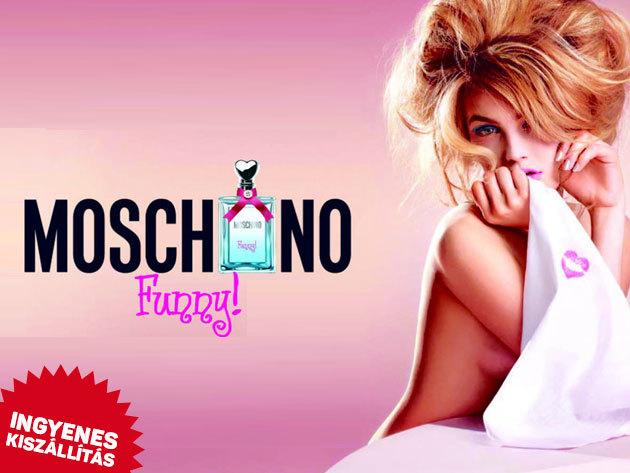 Moschino - Funny! női EDT (100ml) - eredeti női parfüm ingyenes kiszállítással / kellemes virágos-gyümölcsös illat