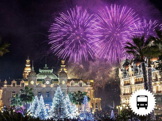 Szilveszter a Francia Rivierán! Non-stop buszos kirándulás - Monaco, Cannes és fergeteges tűzijáték!