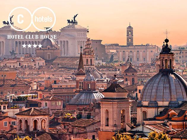 Róma: 4 nap/3 éjszaka 2 fő részére reggelivel - Hotel Club House Roma**** - 2018. december 29-ig felhasználható!