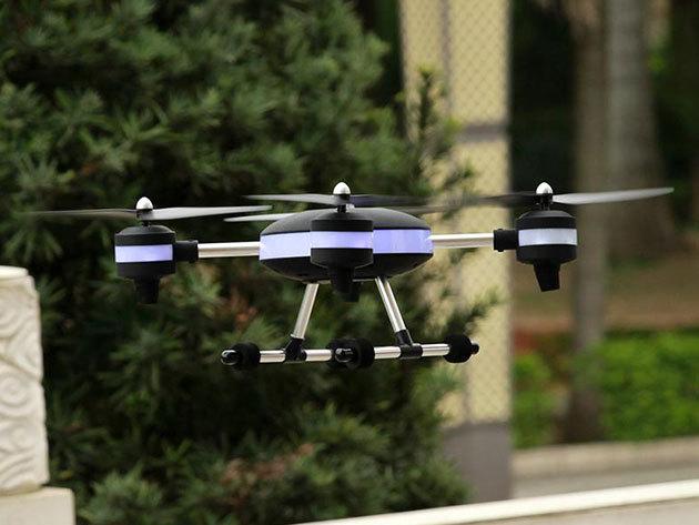 Quadrocopterek - könnyen kezelhető, röptethető készülékek, akár kamerás, összecsukható változatban is