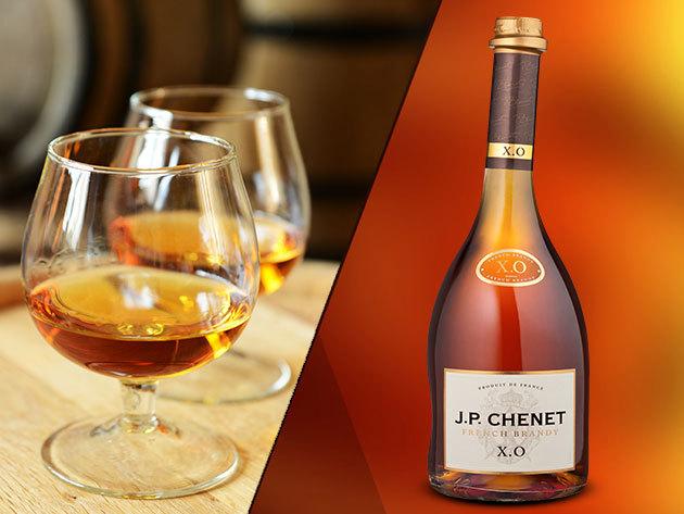 J. P. CHENET XO French Brandy (0,5l) Franciaországból - Tedd különlegessé az ünnepi koccintást!