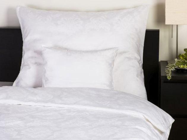 3r. Ágyneműhuzat/Classic fehér - 100% pamut szatén, jacquard beszövéssel, zippes / Cikkszám: 0101010435,