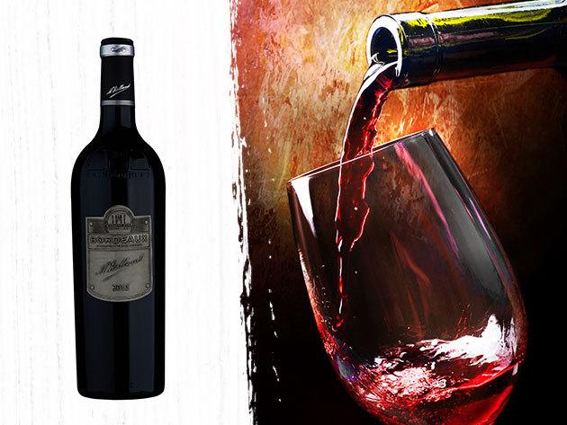 Raymond Huet Bordeaux 2012 (0,75 liter) red dry wine - minőségi bordeaux-i bor, mellyel egyedivé varázsolhatod az ünnepi koccintást!