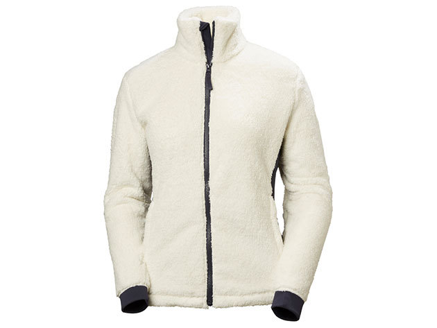 Helly Hansen W PRECIOUS FLEECE JACKET OFFWHITE XS (51798_011-XS)
