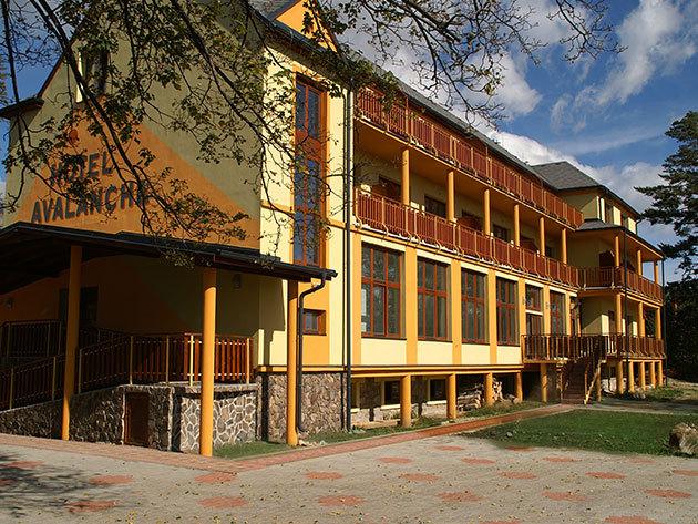 3 nap 2 éj vasárnaptól szerdáig Fp ellátással és wellnessel a Magas-Tátrában, a Hotel Avalanche***-ban (2fő részére)
