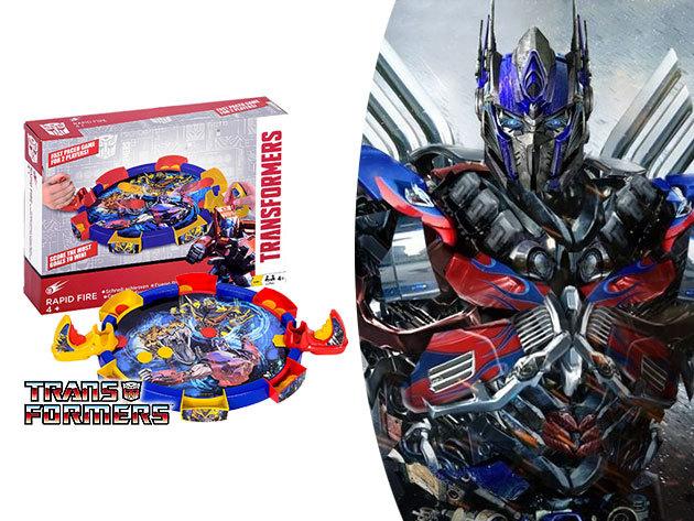 Transformers Rapid Fire - 2 személyes jéghoki, ügyességi játék / a Mikulás puttonyában is meglapulhat