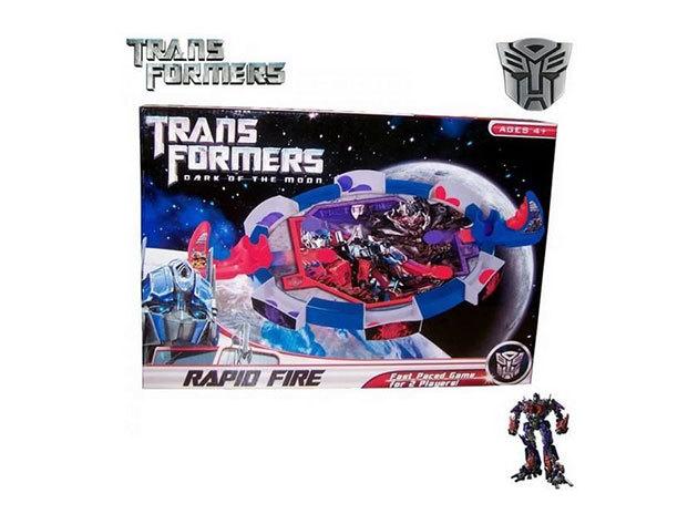 Transformers Rapid Fire - 2 személyes jéghoki játék