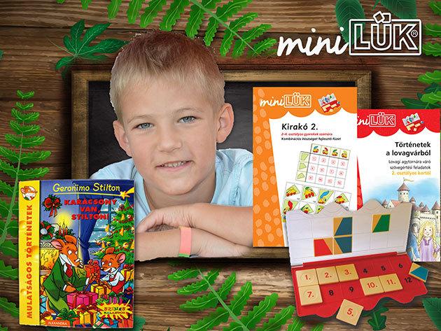 LÜK Készségfejlesztő játékok, könyvek ovisoknak és iskolásoknak / Kifestővel és rejtvénnyel a kicsiknek, Geronimo Stilton vagy Tea Stilton könyvekkel a nagyobbaknak