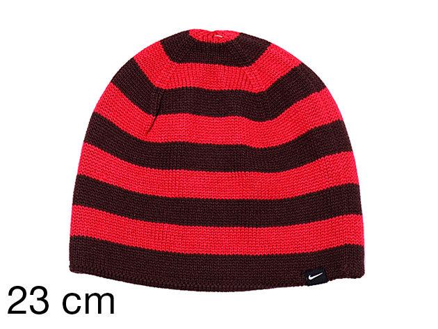 Nike Ath Dept Beanie Stripe - női sapka pink-bordó 23 cm (442112/667_pink-bordó_23 cm)