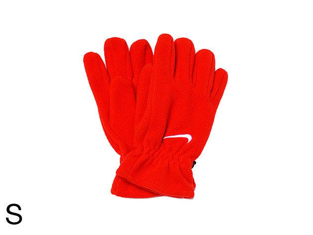 Nike Adults Fleece Gloves - női kesztyű piros S (AC0252/602_piros_S)