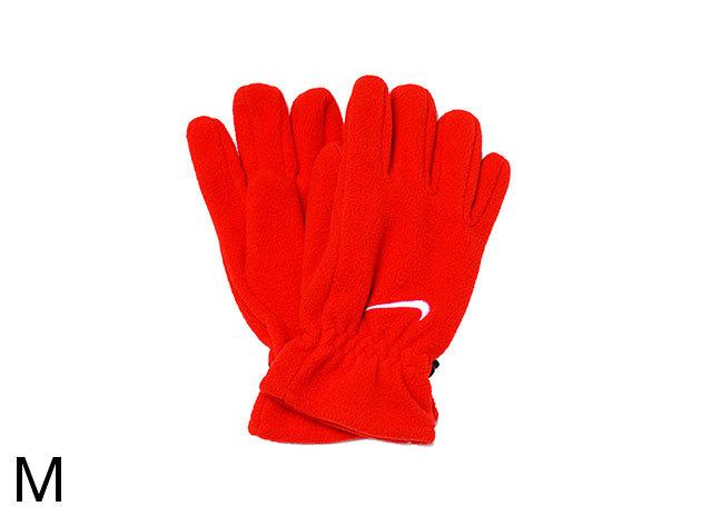 Nike Kids Fleece Gloves - kislány kesztyű piros M (AC0250/602_piros_M)