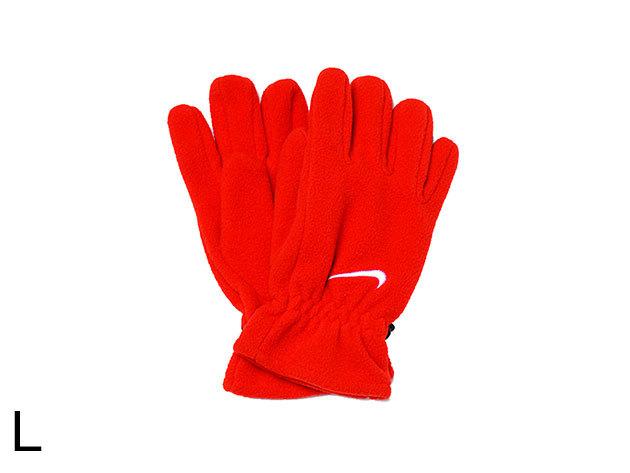 Nike Kids Fleece Gloves - kislány kesztyű piros L (AC0250/602_piros_L)