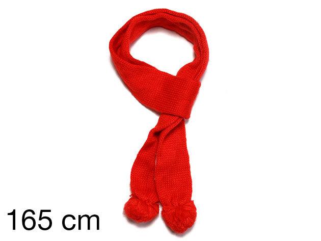 Adidas Knit Scarf - női kötött sál piros 165 cm (659449_piros_165 cm)