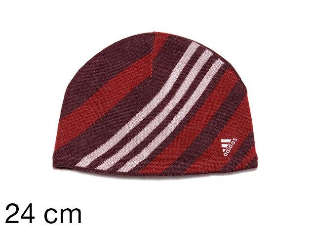 Adidas Winter Beanie - női sapka bordó 24 cm (059353_bordó_24 cm)