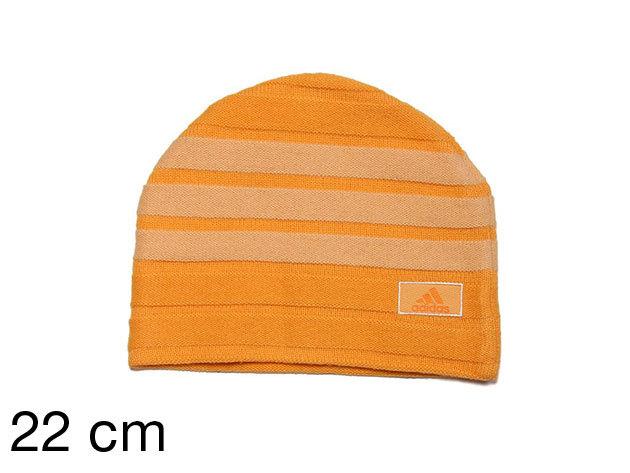 Adidas 3S Beanie Horizontal - sapka narancssárga 22 cm (060530_narancssárga_22 cm)