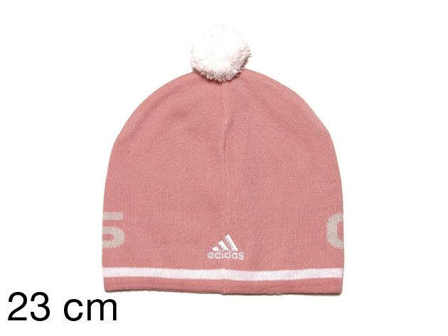 Adidas Sess Lineage Pompom - női sapka rózsaszín 23 cm (E81726_rózsaszín_23 cm)