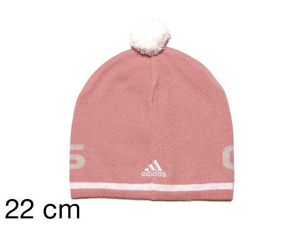 Adidas Sess Lineage Pompom - női sapka rózsaszín 22 cm (E81726_rózsaszín_22 cm)
