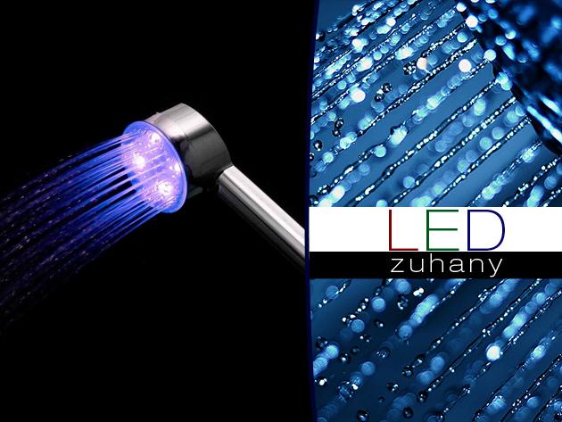 Zuhanyozz szórakozva a LED lámpás zuhanyfejjel!