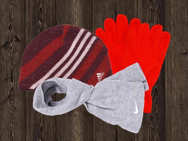 ADIDAS & NIKE téli kiegészítők az egész családnak: kesztyűk, sapkák, sálak - minőségi sportruházat OUTLET áron