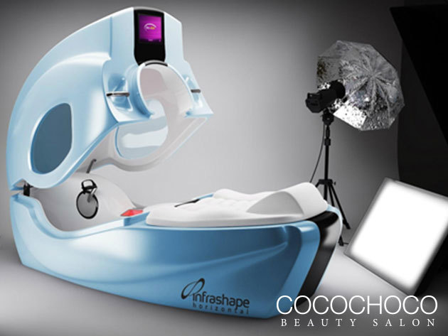 Infrashape Horizontal vákuumos infrabicikli a Cocochoco Beauty-ban (13. kerület) 1 kezelés alatt akár 1500 kcal-t is elégethetsz!