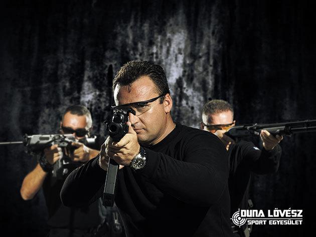 Élménylövészet Ráckevén! Családi, Férfias, Sniper-, Pisztoly-, Shoutgam, Agyaggalamb csomagok taktikai oktatással és roncsautókkal fűszerezve