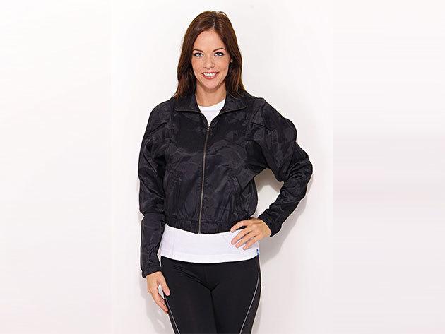 Adidas Studio Cu Light Jkt - női átmeneti kabát fekete 34 (V30694_fekete_34)