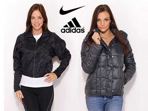 ADIDAS és NIKE női kabátok, pufi dzsekik és széldzsekik - minőségi ruházat OUTLET áron, limitált készlet