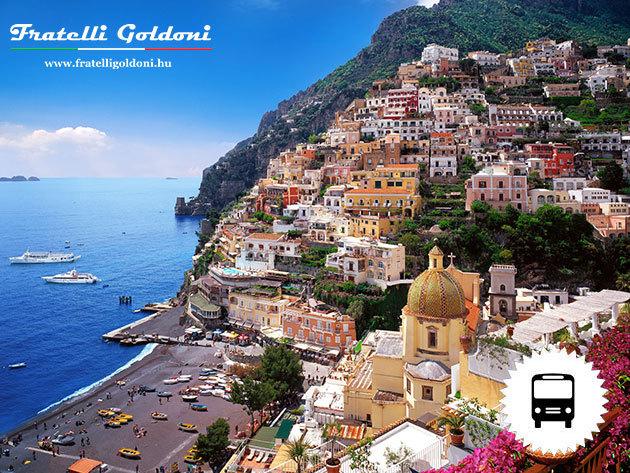 KÜLÖNÖS SZILVESZTER Nápoly - Capri - Sorrento buszos utazás Olaszországba, kirándulások, szállás tengerpari hotelben*** reggelivel (december 28 - január 3.) / fő