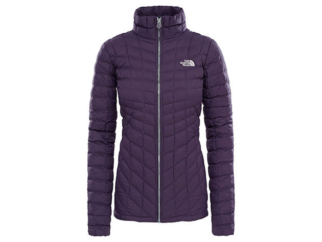 THE NORTH FACE NŐI DZSEKI THERMOBALL FULL ZIP JACKET PURPLE DK - T93BRLPF8 S-ES MÉRET (UTÁNRENDELÉSRE)