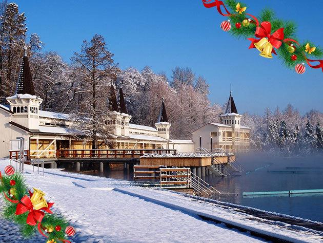 Hévízi wellness télen - 8 nap 7 éjszaka szállás 2 fő részére félpanziós ellátással, a Főnix Club Hotel***-ben