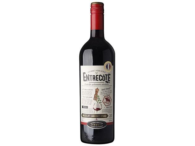 Entrecote Merlot Cabernet Sauvignon (0,75l) 13,5% alkoholtartalom