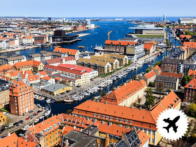 KOPPENHÁGA - Utazz Dániába!  4 nap / 3 éjszaka szállás, repülőjeggyel és illetékekkel 2 főre - időpontok novembertől márciusig