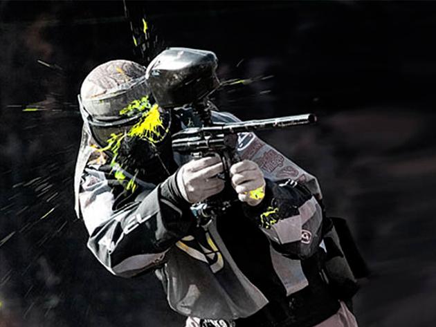 Paintball 50 db lőszerrel