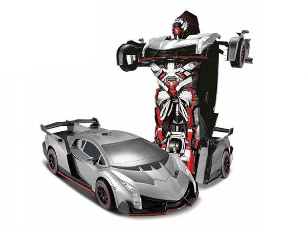Transformer robot autó Lambo szürke közepes IRP-000002360