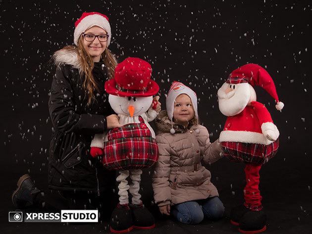 Fotózás műteremben - karácsonyi, családi, kismama, baba-mama / Xpress Studio, XI. kerület