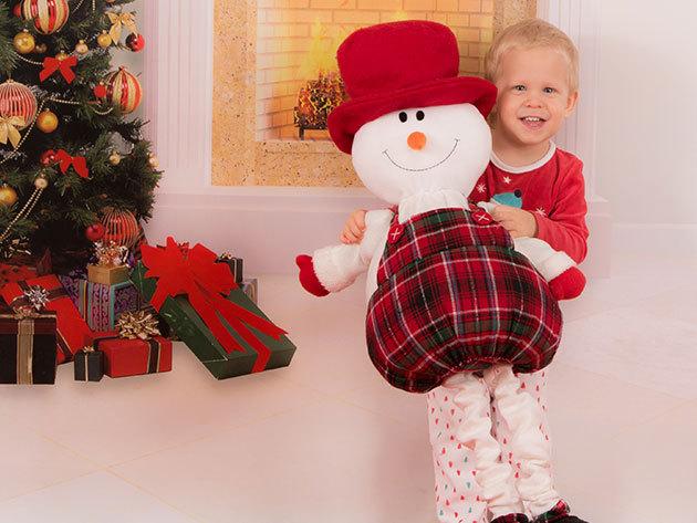 Karácsonyi baba vagy gyermek fotózás