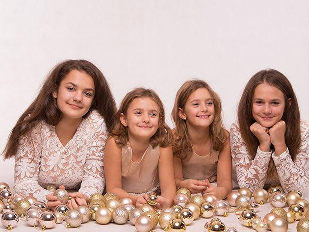 Karácsonyi családi fotózás Max 5 fő (2 felnőtt+2 vagy 3 gyermek)