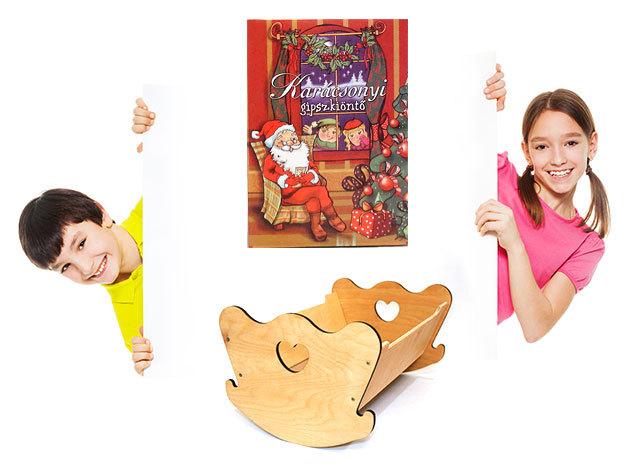 Fából készült játékok - babaágyak, bábparaván és gipszkiöntők - Lepd meg gyermekedet!