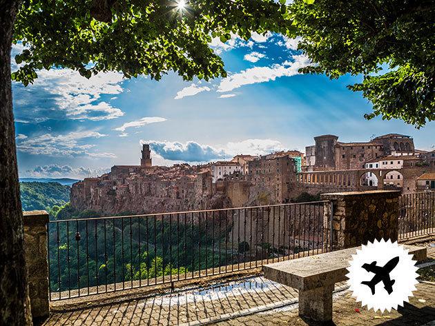 Toszkána utazás repülővel  - 4 nap / 3 éjszaka szállás*** Montecatini Terme városában reggelis ellátással, repülőjegy + illetékek 2 főre + autóbérlési lehetőség / időpontok márciustól júliusig