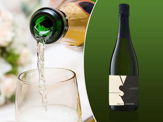 Extra száraz (brut) 'nyers' pezsgő a Vissy pincészettől, az igazán ünnepi pillanatokra