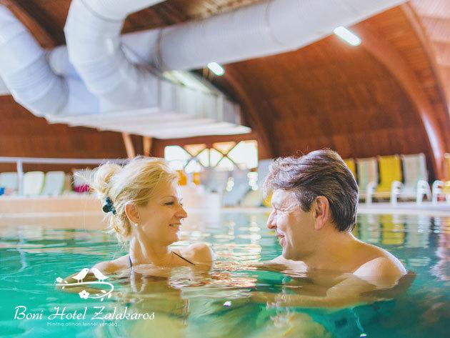 PÜNKÖSDKOR - Zalakaros, Boni Wellness Hotel*** - szállás és wellness 4 napra 2+2 fő (4 éven aluli gyermek) részére félpanziós ellátással