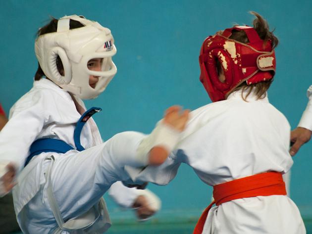 Kyokushin Karate edzés 1 hónapos gyermek bérlet