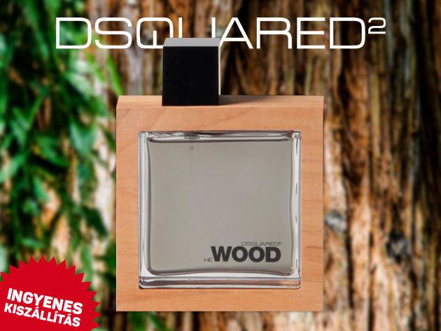 Dsquared2 - He Wood EDT (eau de toalett) friss illat, férfiaknak (100ml) ingyenes kiszállítással!